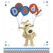 Boofle Daddy Happy Birthday Greeting Card