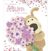 Boofle Wonderful Mum Happy Birthday Greeting Card