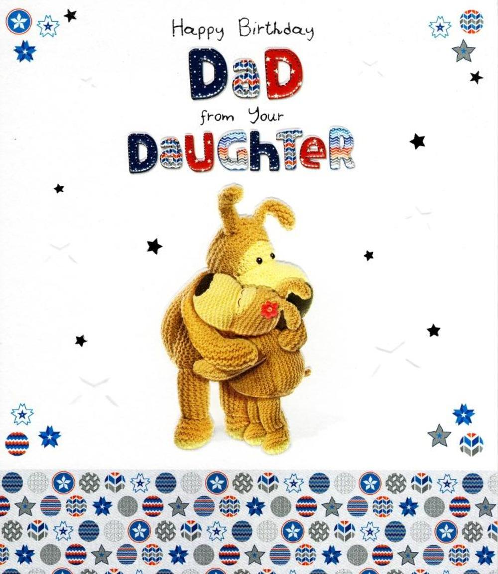 Boofle Dad From Daughter Birthday Greeting Card Thumbnail 1 2