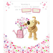 Boofle Like A Mum Happy Birthday Greeting Card
