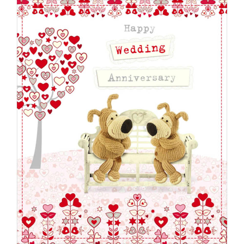 Boofle happy wedding anniversary greeting card cards love kates boofle happy wedding anniversary greeting card m4hsunfo Choice Image