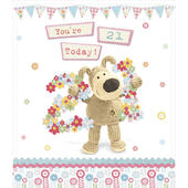 Boofle Happy 21st Birthday Greeting Card