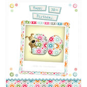 Boofle Happy 30th Birthday Greeting Card