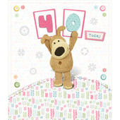 Boofle Happy 40th Birthday Greeting Card