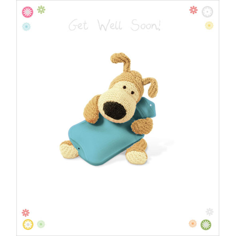 Boofle Get Well Soon Greeting Card