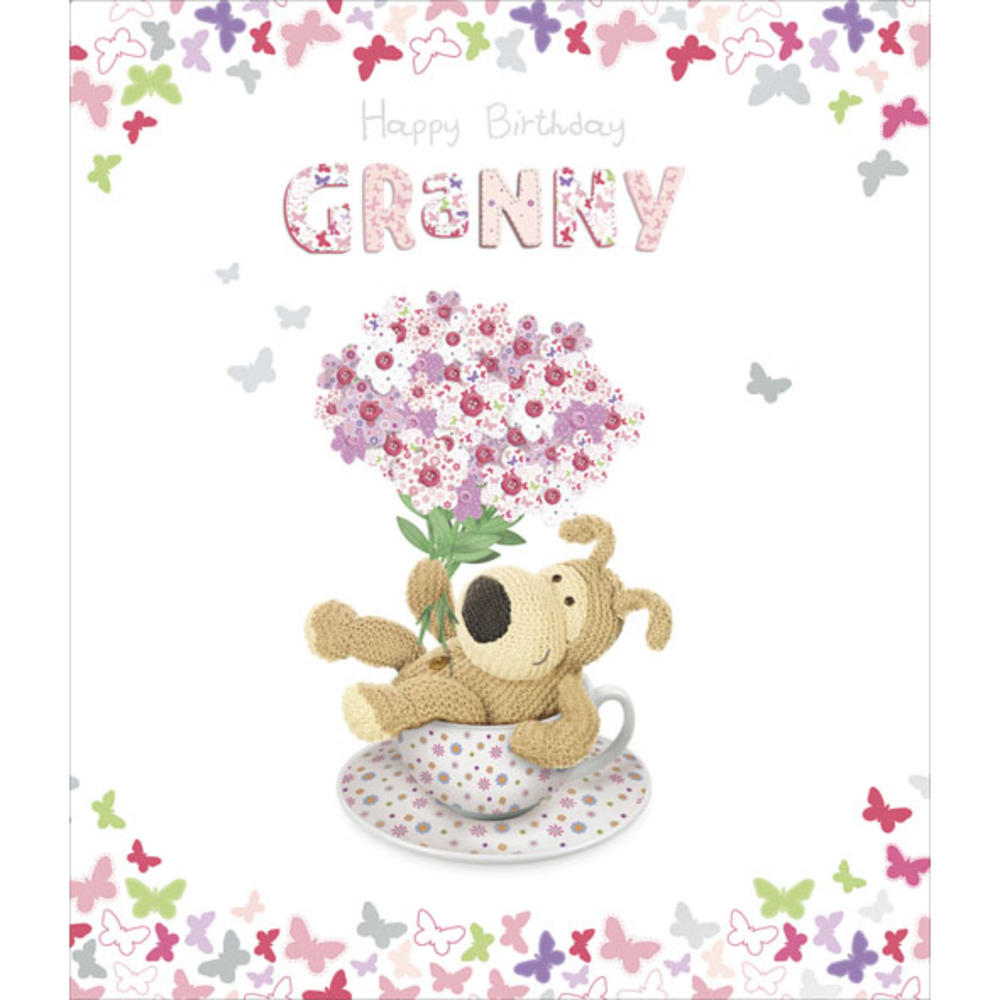 Boofle Granny Happy Birthday Greeting Card