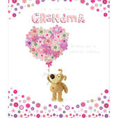 Boofle Grandma Happy Birthday Greeting Card