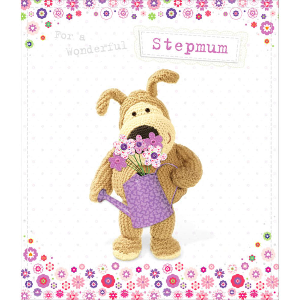Boofle Stepmum Happy Birthday Greeting Card