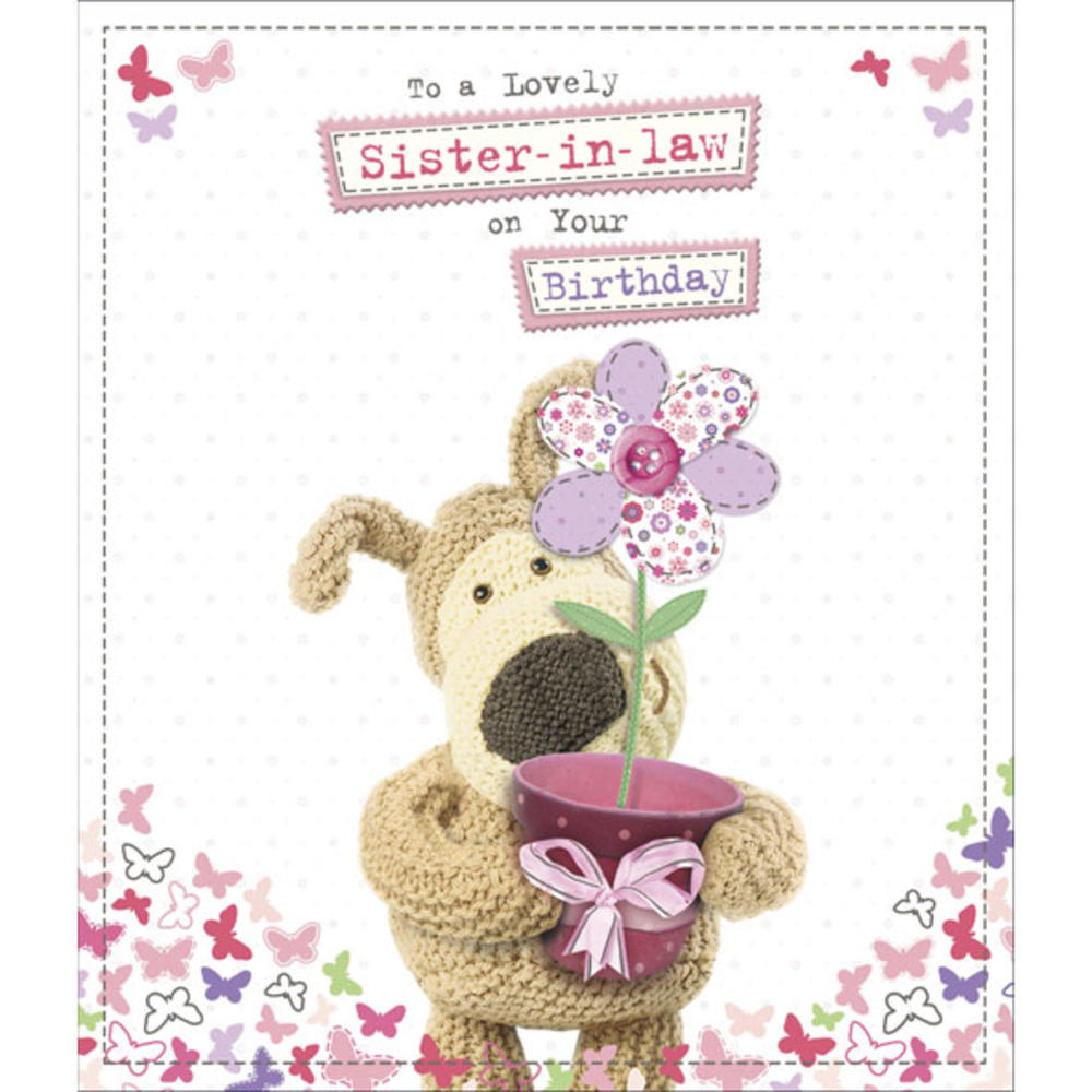 Boofle Sister-In-Law Happy Birthday Greeting Card