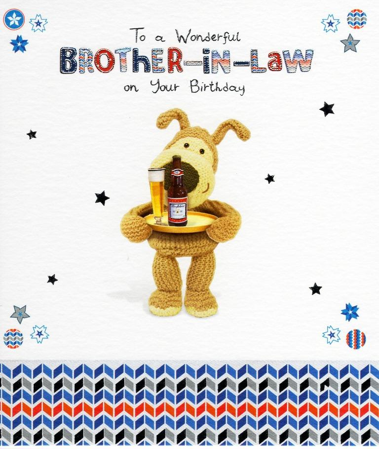Sentinel Boofle Brother In Law Happy Birthday Greeting Card Cute Range Greetings Cards