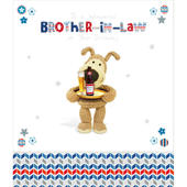 Boofle Brother-In-Law Happy Birthday Greeting Card