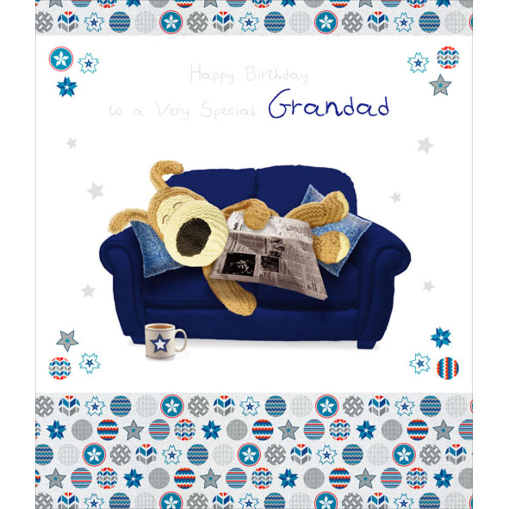 Boofle Grandad Happy Birthday Greeting Card