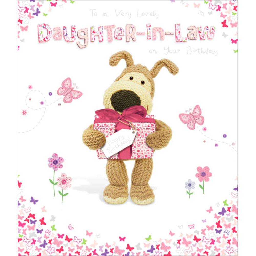 Boofle DaughterInLaw Happy Birthday Greeting Card Cards – Happy Birthday Daughter in Law Cards