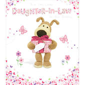 Boofle Daughter-In-Law Happy Birthday Greeting Card