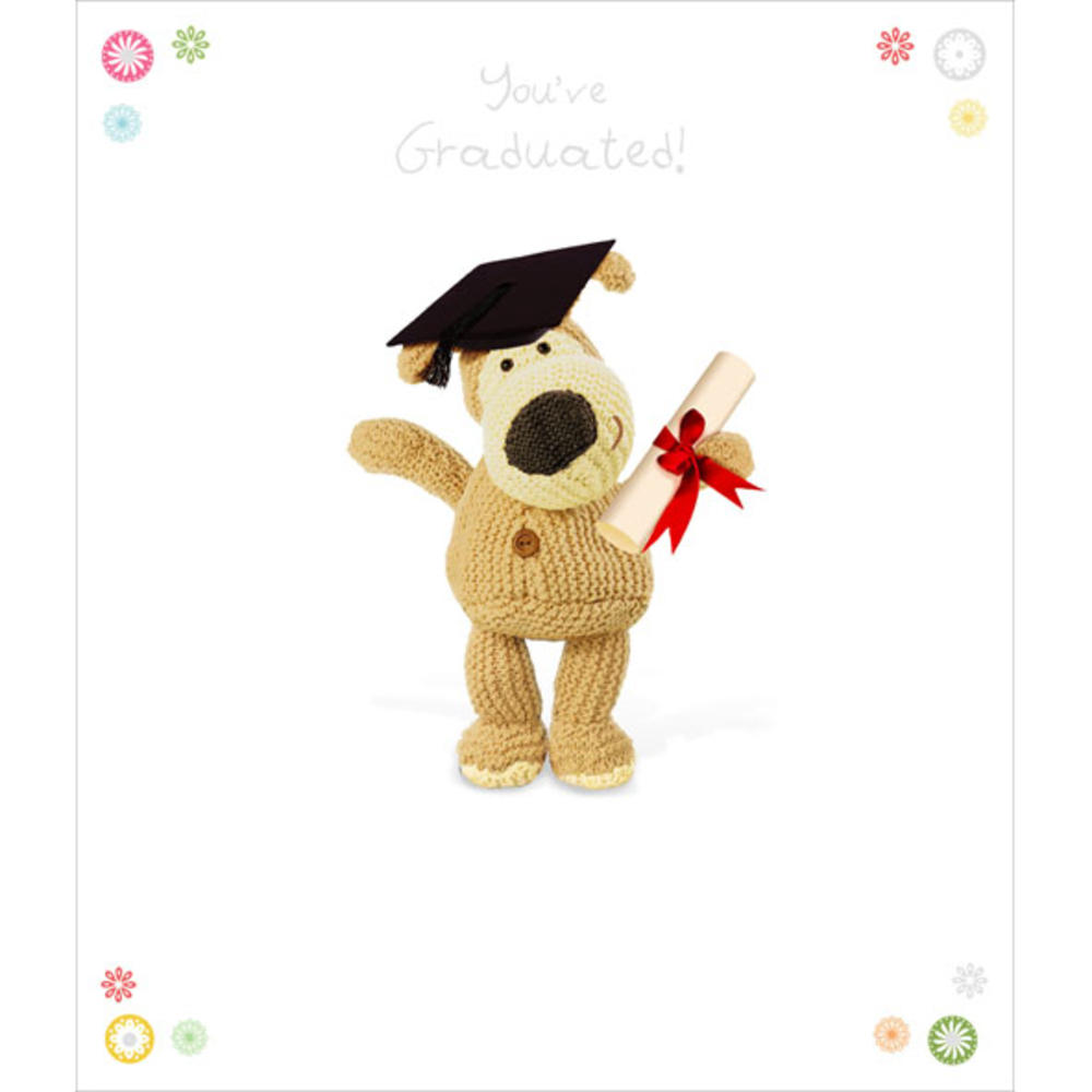 Boofle You've Graduated Greeting Card