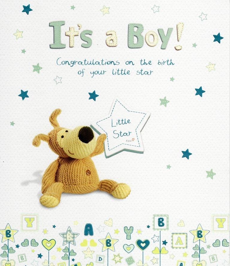 Boofle new baby boy greeting card cute range greetings cards ebay sentinel boofle new baby boy greeting card cute range greetings cards m4hsunfo