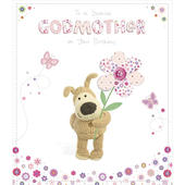Boofle Godmother Happy Birthday Greeting Card