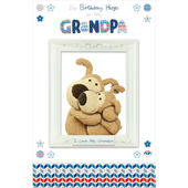 Boofle Grandpa Happy Birthday Greeting Card