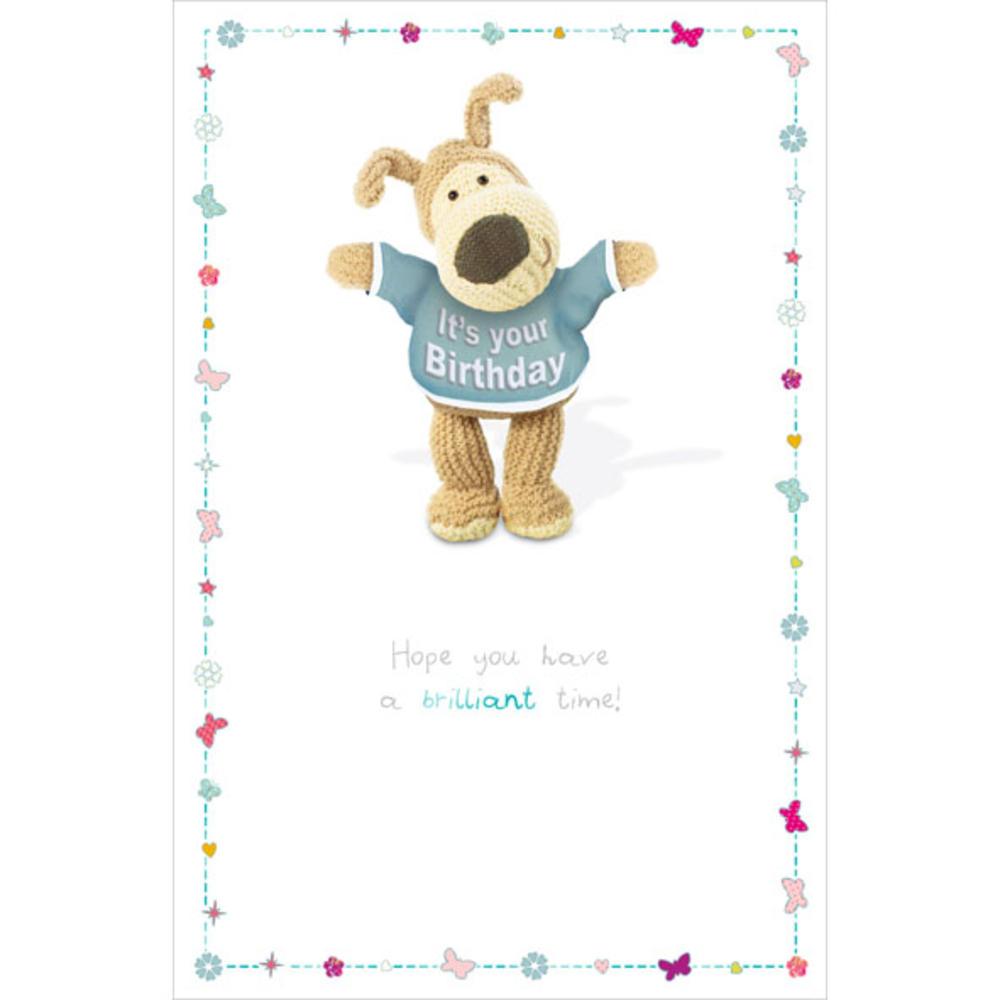 Boofle Brilliant Happy Birthday Greeting Card