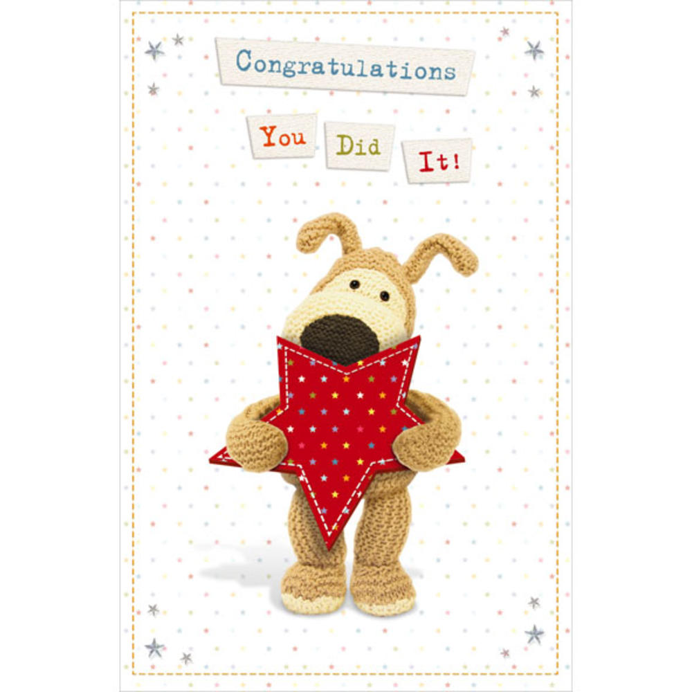 Boofle Congratulations Greeting Card