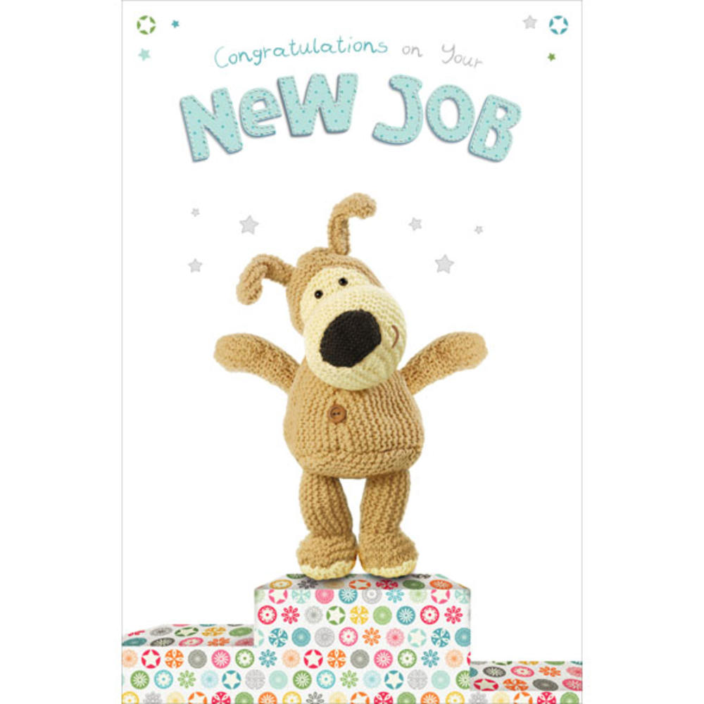 Boofle New Job Congratulations Greeting Card