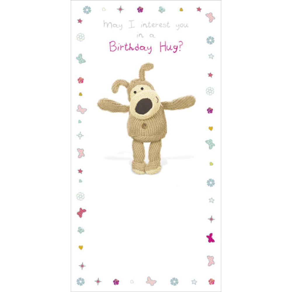 Boofle Birthday Hug? Happy Birthday Greeting Card
