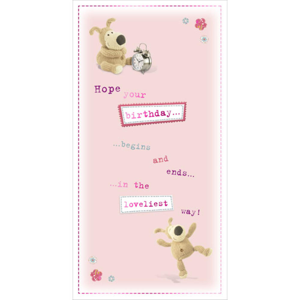 Boofle Happiest Birthday Greeting Card