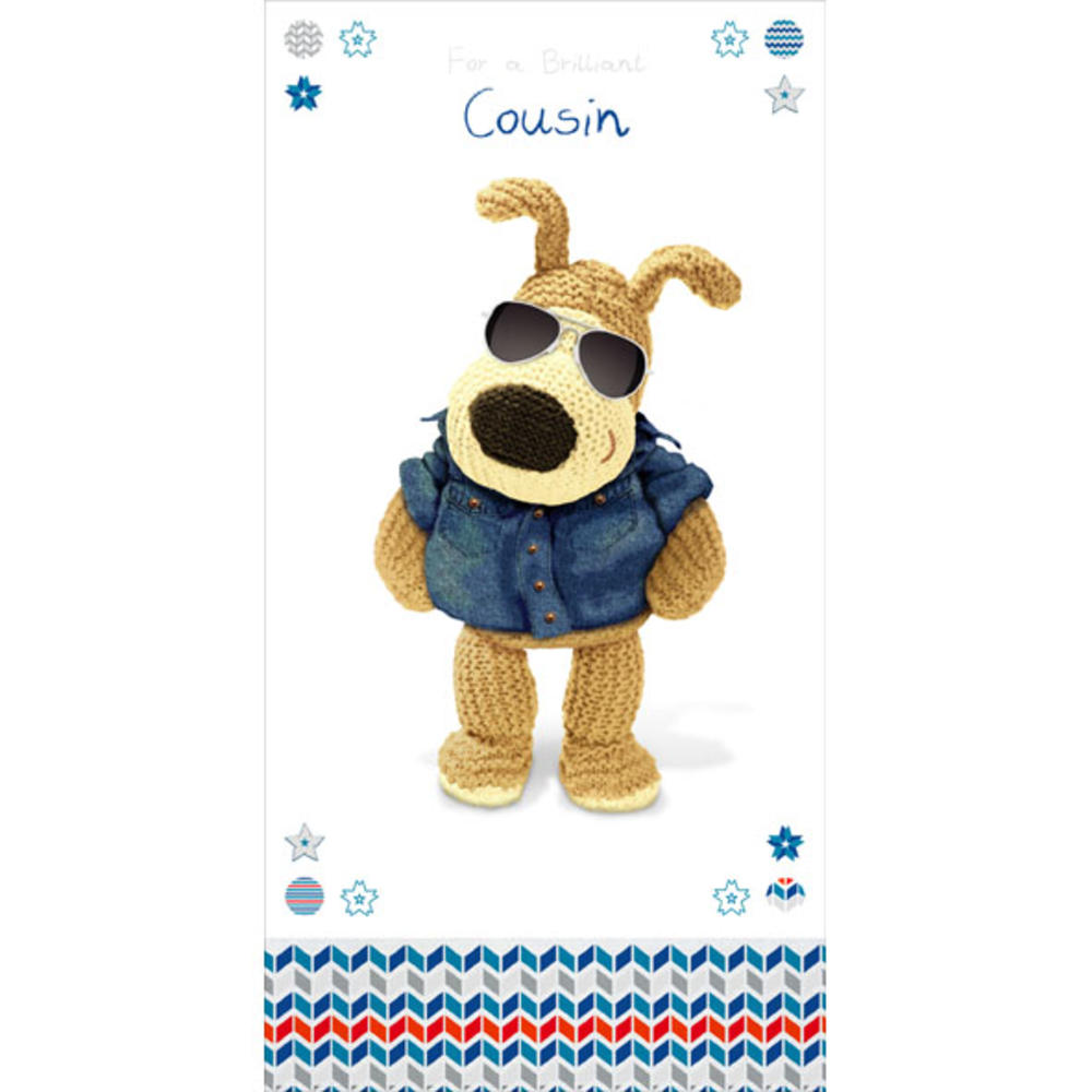 Boofle Cousin Happy Birthday Greeting Card