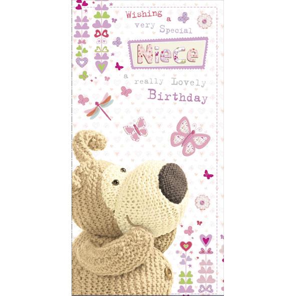 Boofle Niece Happy Birthday Greeting Card