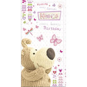 Boofle Niece Happy Birthday Greeting Card
