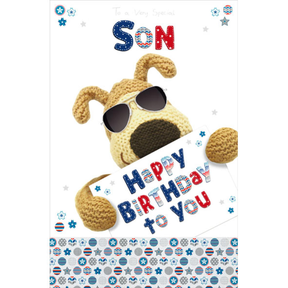 Boofle Son Happy Birthday Greeting Card