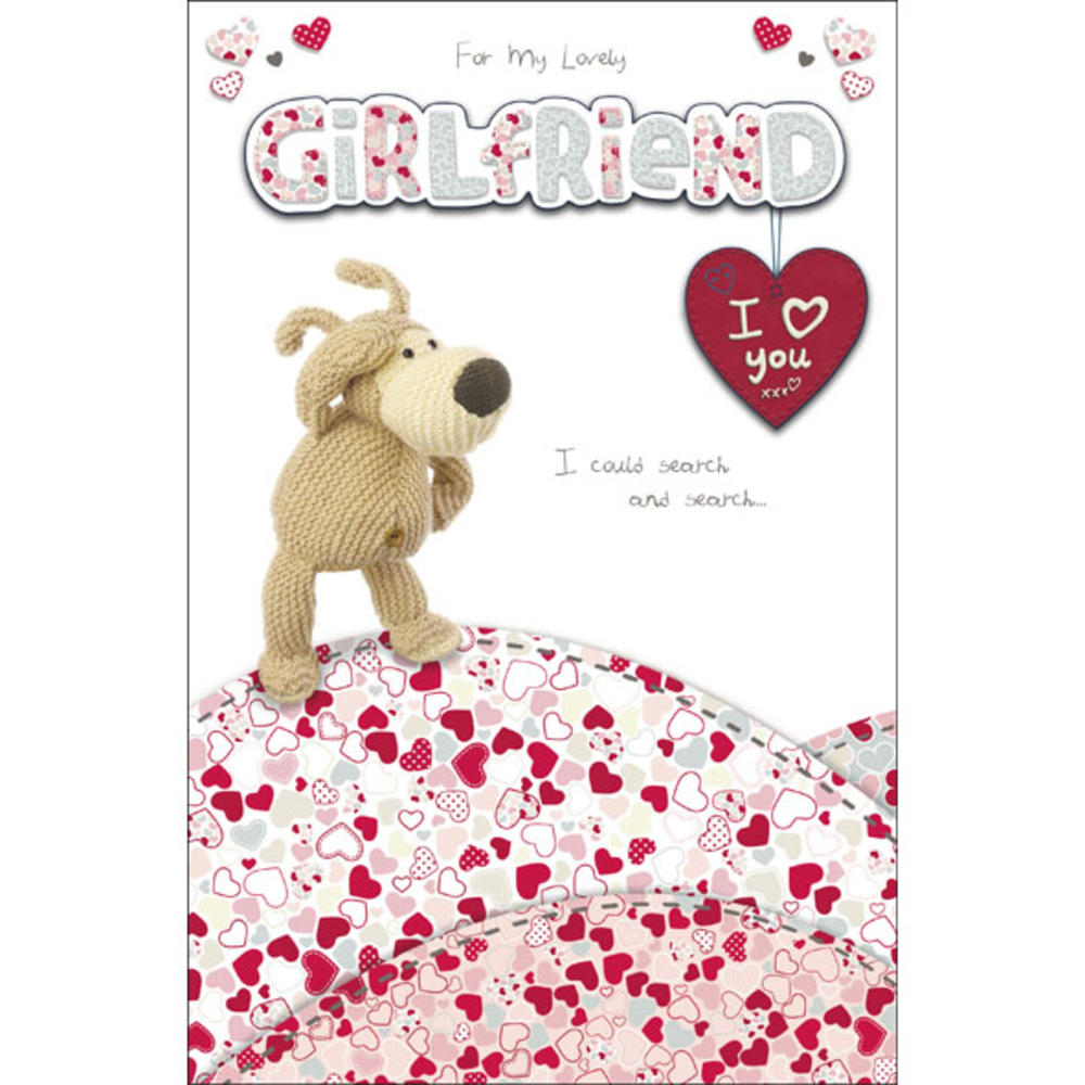 Boofle Girlfriend Happy Birthday Greeting Card Cards Love Kates