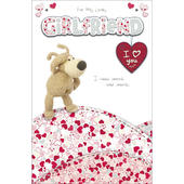 Boofle Girlfriend Happy Birthday Greeting Card