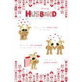 Boofle Husband On Our Anniversary Greeting Card