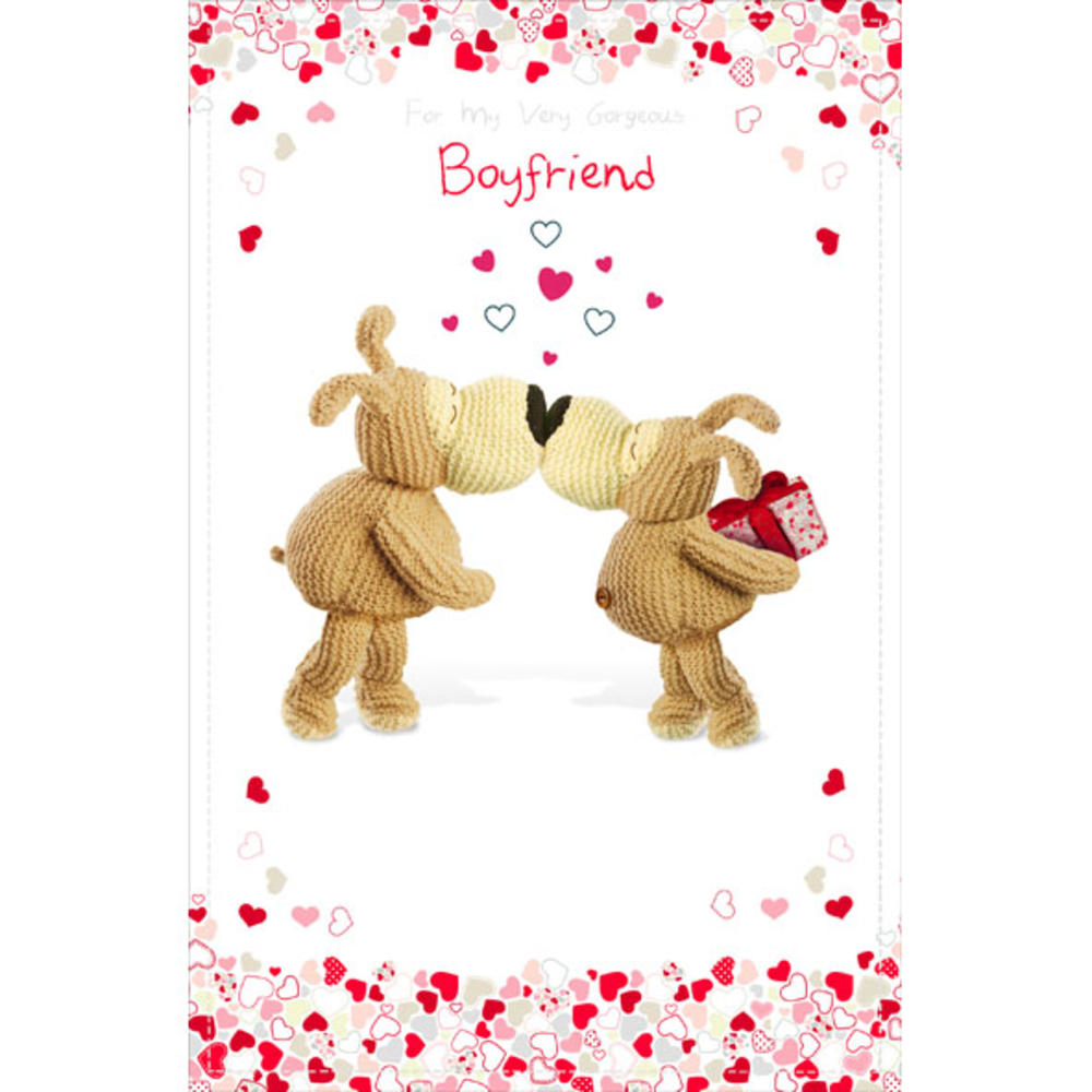 Boofle Boyfriend Happy Birthday Greeting Card Cards Love Kates