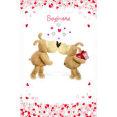 Boofle Boyfriend Happy Birthday Greeting Card