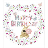 Boofle Female Happy Birthday Greeting Card