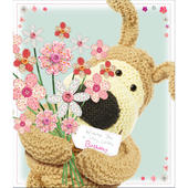 Boofle Holographic Happy Birthday Greeting Card