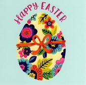 Pack of 5 Happy Easter Egg Greeting Cards In Same Design