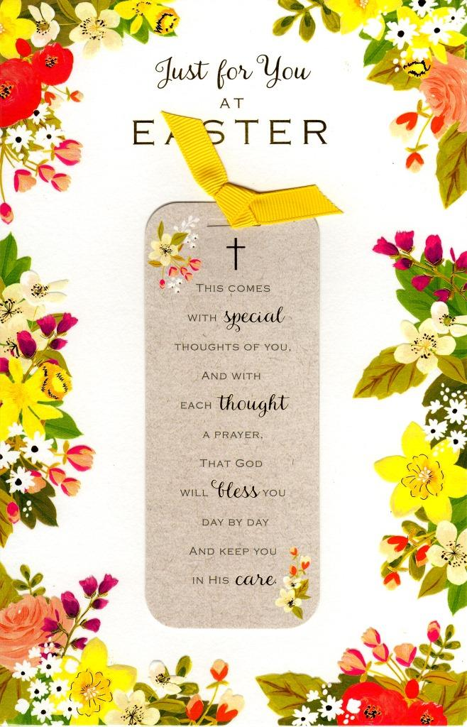 Just for you at easter religious greeting card cards love kates just for you at easter religious greeting card m4hsunfo Images