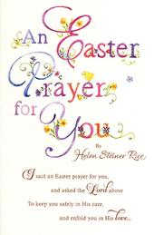 Helen Steiner Rice Easter Prayer Greeting Card