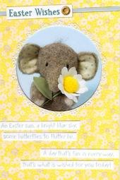 Elliot & Buttons Easter Wishes Easter Greeting Card
