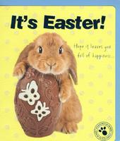 It's Easter Cute Bunny Studio Pets Greeting Card