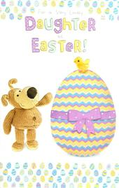 Boofle Daughter Happy Easter Greeting Card