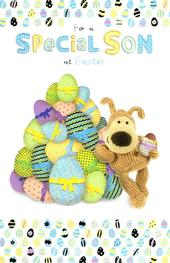 Boofle Son Happy Easter Greeting Card