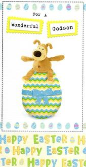 Boofle Godson Happy Easter Greeting Card