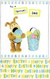 Boofle Special Dad Happy Easter Greeting Card