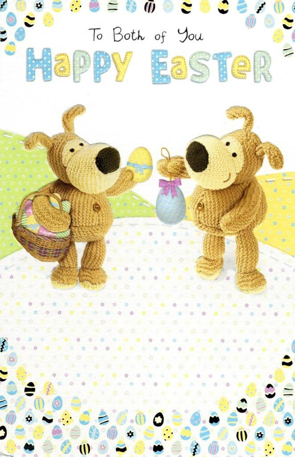 Boofle To Both Of You Happy Easter Greeting Card