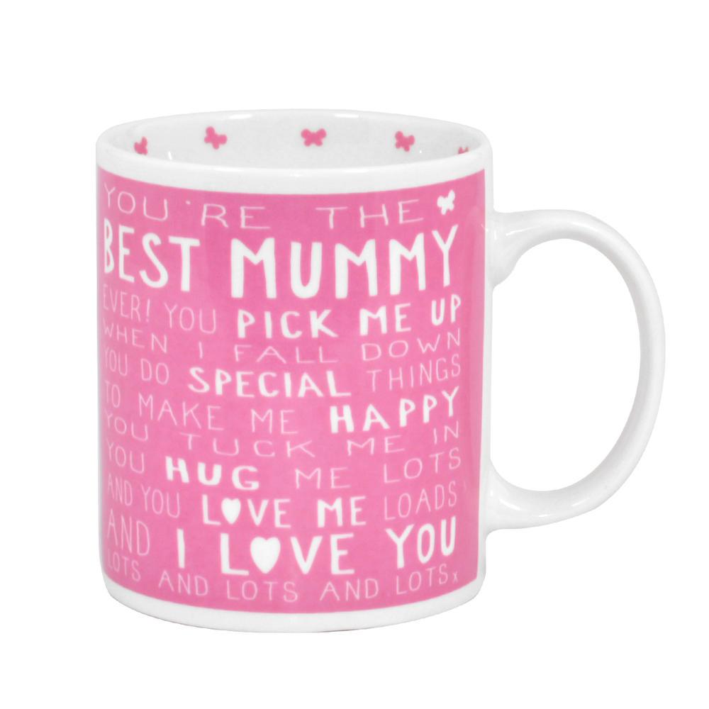 Best Mummy Messages Of Love Mug New Gift Range