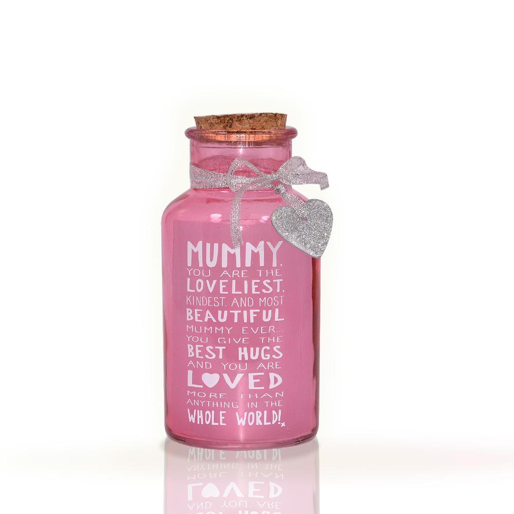 Loveliest Mummy Light Up Jar Messages Of Love Gift Range